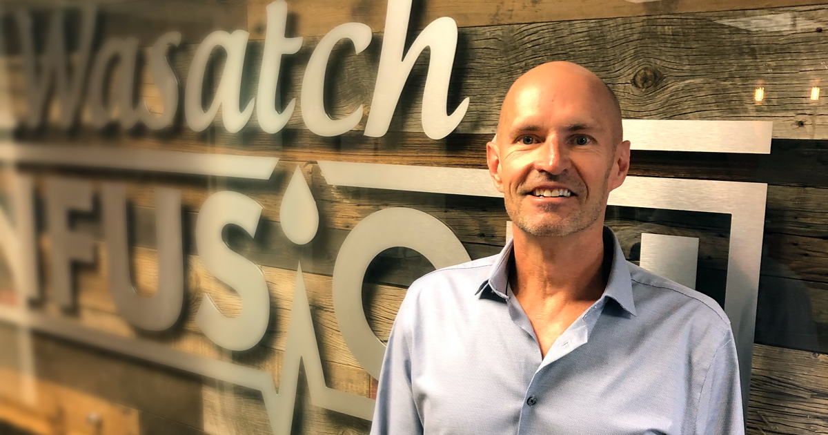 Chris Clift joins the team at Wasatch Infusion
